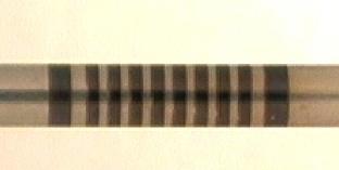 """Laser marking on 0.05"""" tubing - banding"""