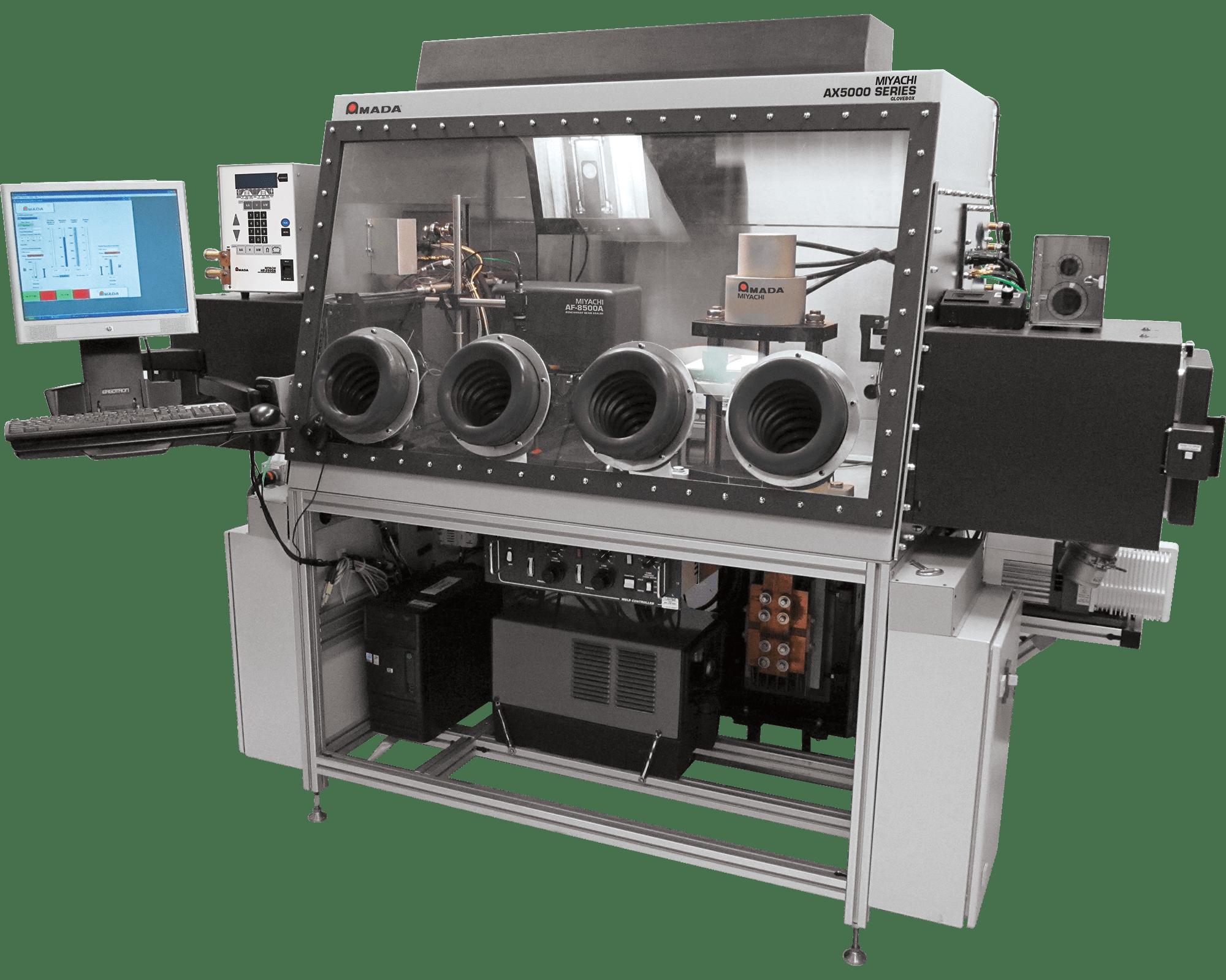 AX5000 Advanced Glovebox Welding System