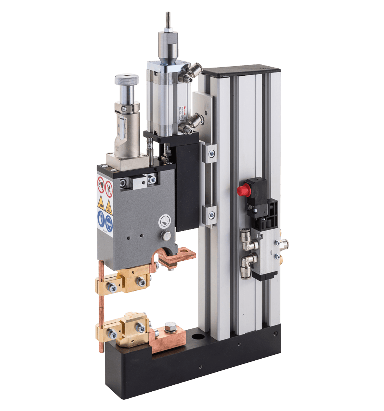F120 Mid Force Pneumatic Weld Head - Opposed Electrodes
