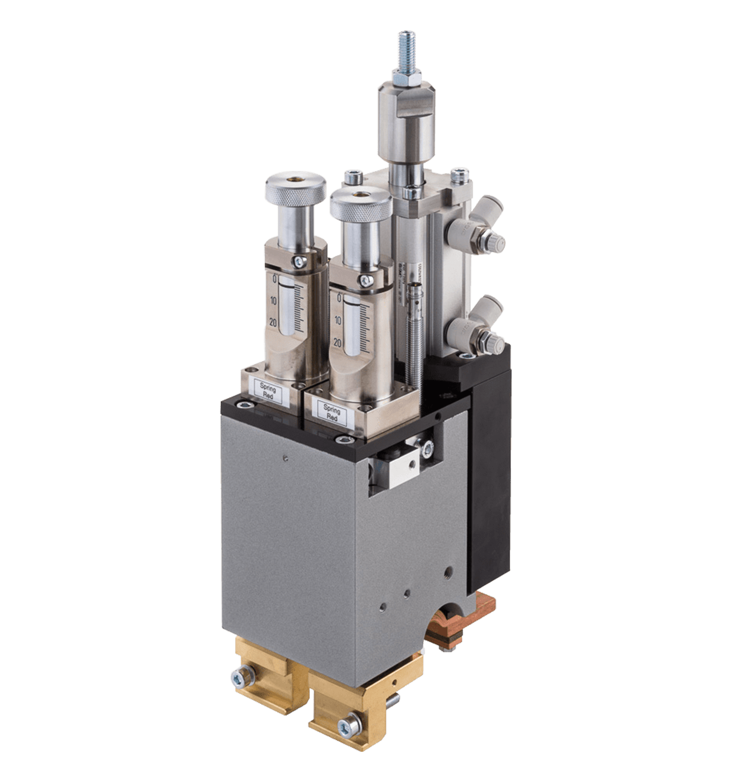 FD120 Mid Force Dual Pneumatic Weld Head - Series Electrodes