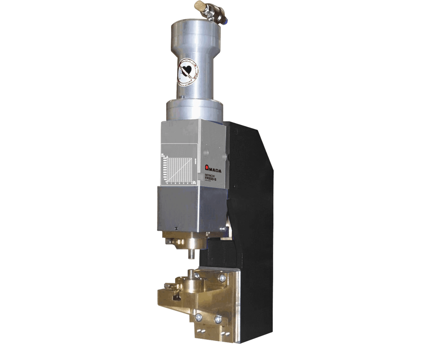 FP200-S High Force Pneumatic Weld Head - Opposed Electrodes