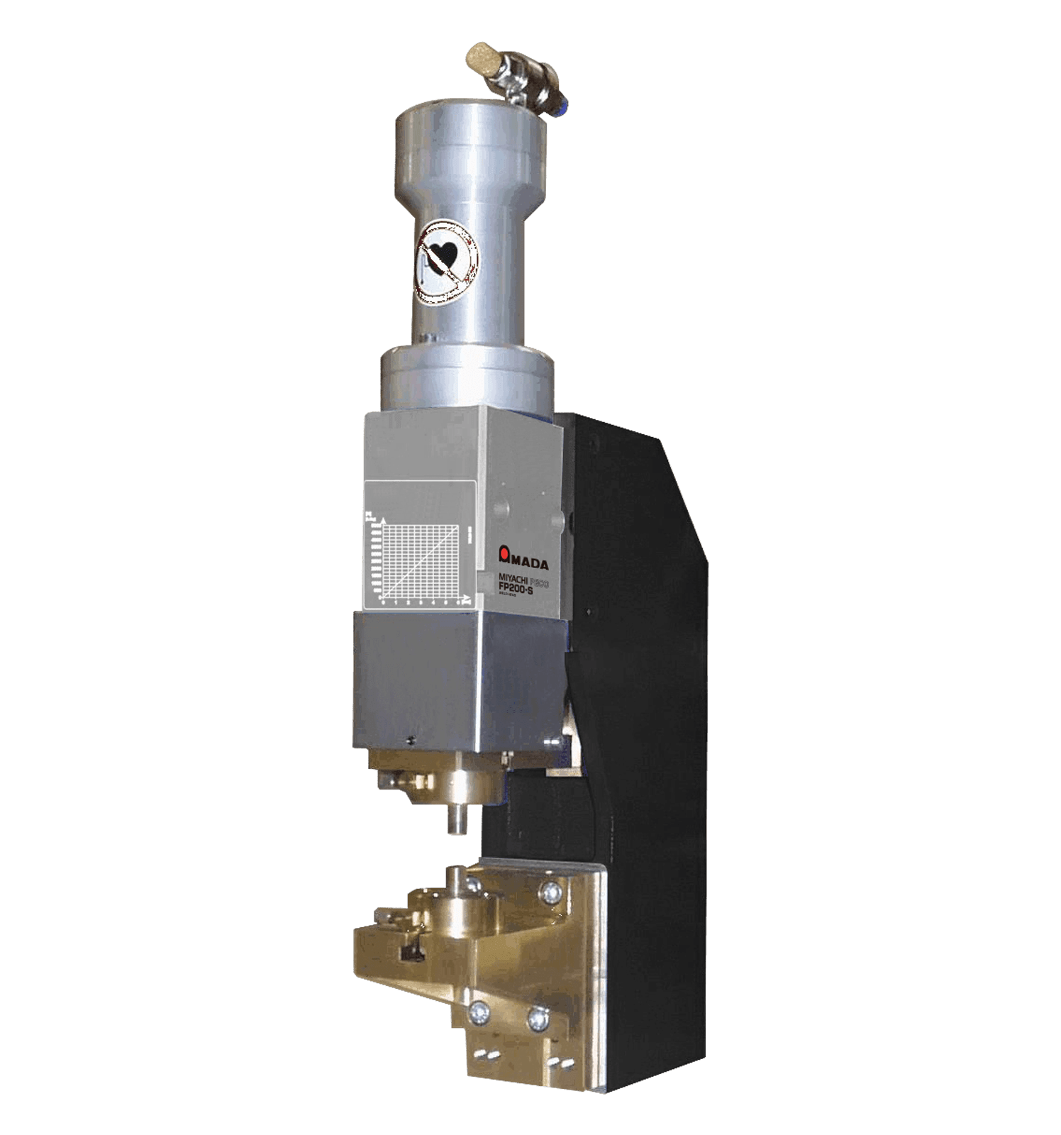 FP200 High Force Pneumatic Weld Head - Opposed Electrodes