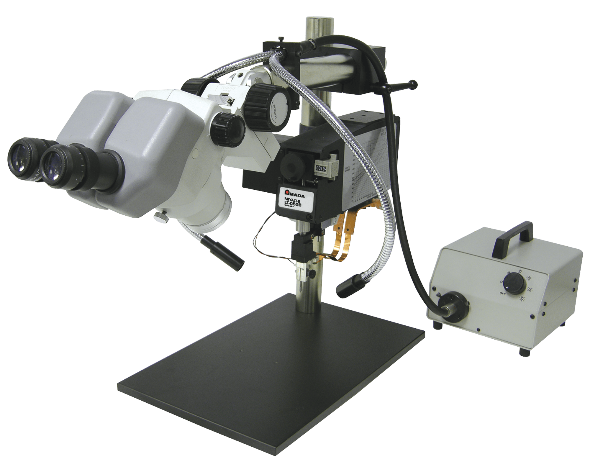 LT-050B-F/UB Light Force Manual Weld Head - Parallel Gap Electrodes