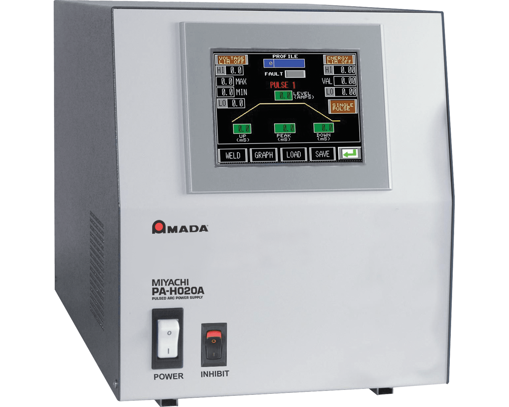 PA-H020A Programmable Pulsed Arc Welder