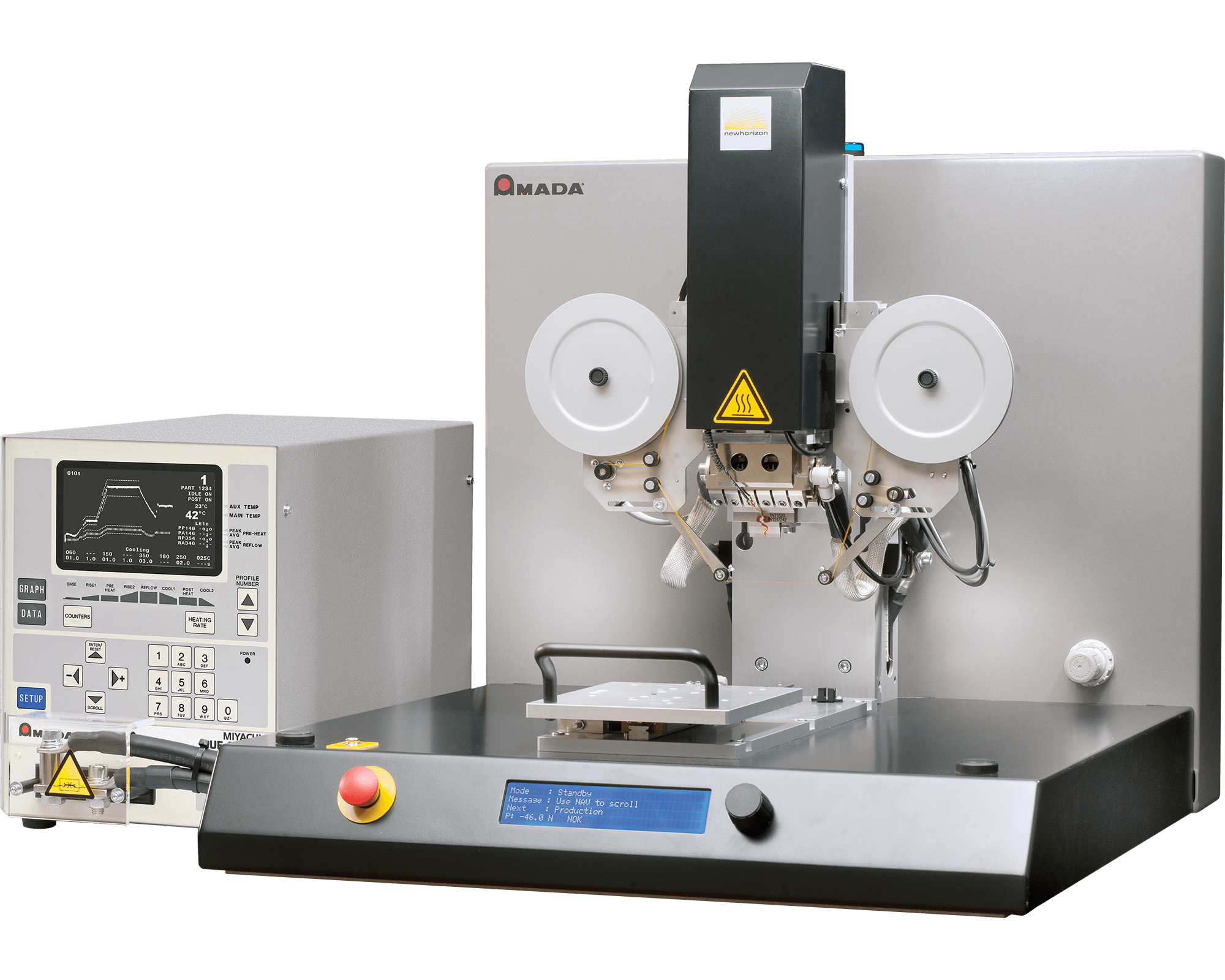 NH-2000A Hot Bar Reflow Soldering & Heat Staking System