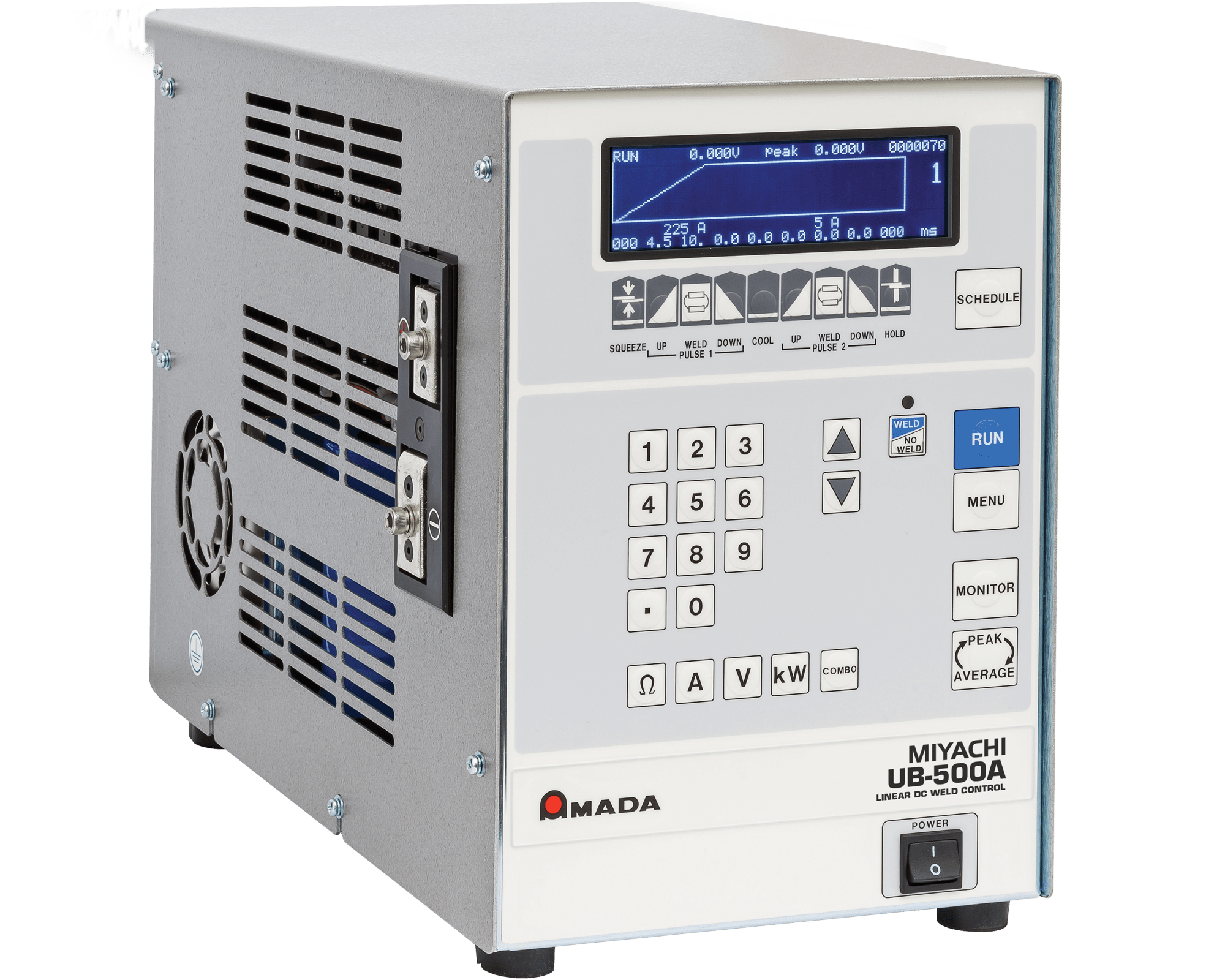 UB-500A Low Power Linear DC Micro Spot Welder