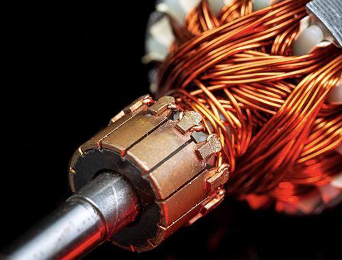 motor fusing, motor armature fusing, tang welding