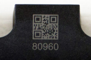 Semiconductor - electrical component, QR code, copper, Cu, plastic, semiconductor, laser marking, LMF20