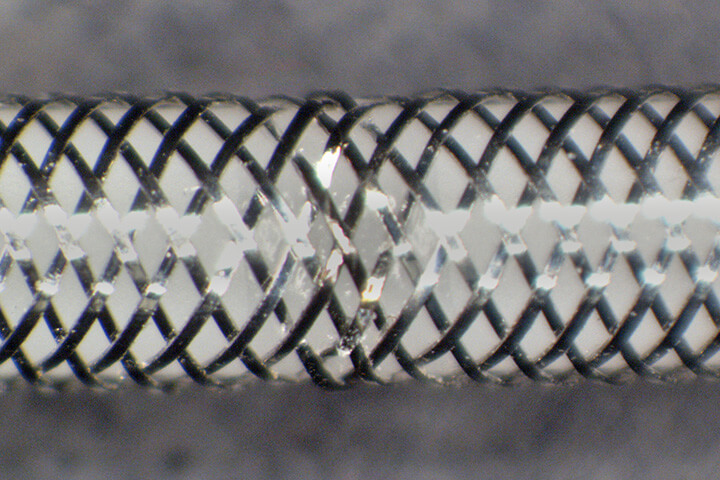 wire mesh welding implantable medical device - medical, laser welding, wire mesh welding, implantable medical devices, lmf35