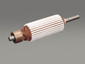 Motor armature - automotive, tang weld, wire termination, isq20