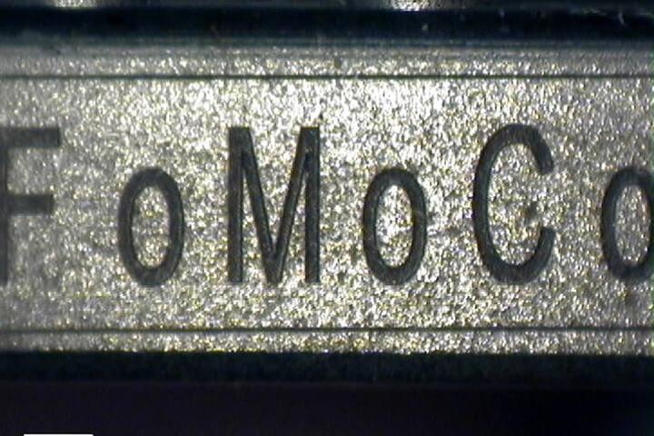 Brake assembly - automotive, engraving, LMF35-AF