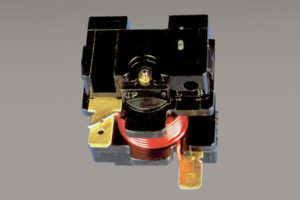 Relay assembly - automotive, relay, wire to terminal, spot welding, hf27