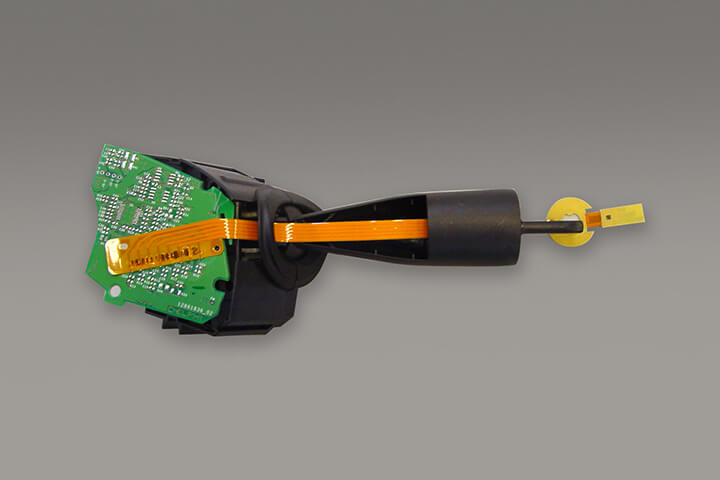 Turn indicator - automotive, flex to pcb, hot bar reflow soldering, hot bar bonding, newhorizon, uniflow