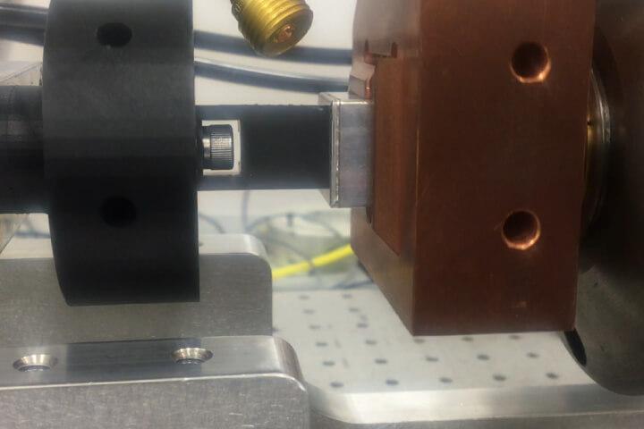 Camera Assembly - Fiber Laser - Hermetic Seam Sealing - Aluminum - Laser Welding, LF1000AI-MM, Galvo, Automotive Electronic, Components, Hermetic sealing, Seam sealing, Welding, Seam Aluminum, 1050 Camera Assembly