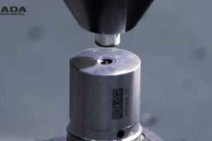 Laser Welding a Diesel Fuel Injector - laser welding, seam welding, steel, fuel injector, lw50a
