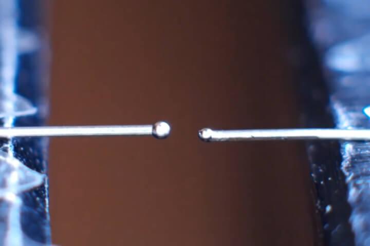 Miniture Scalpel - Fiber Laser Welding- Stainless Steel - Laser Welding, LMF35-HPFX-F, Medical Welding, Seam Welding, Spot Stainless Steel, Scalpel miniture