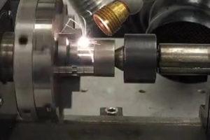 Pressure Sensor - Fiber Laser Welding- Stainless Steel 316 - Laser Welding, LF500AIFX-F, Electronic Components, Medical Welding, Seam Stainless Steel 316, Sensors Pressure