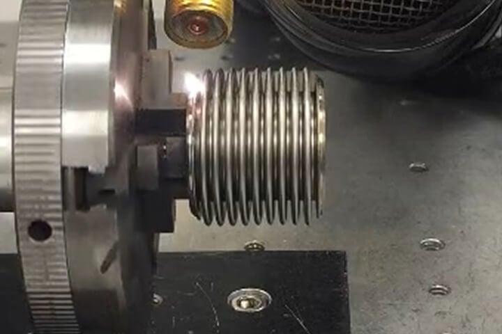 Pressure Sensor - YAG Laser Welding - Seam Stainless Steel 316 & 321 - Laser Welding, LW500AEFX-F, Electronic Components, Seam sealing Welding, Seam Stainless Steel, 316 Stainless Steel, 321 Sensors, sensor pressure, Hermetic