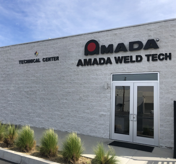 Free sample processing in AMADA WELD TECH's technical center