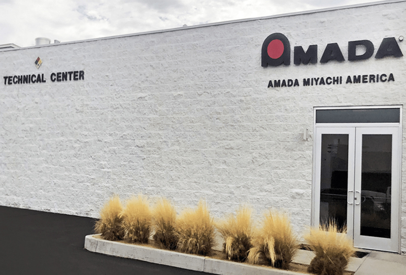 AMADA WELD TECH technical center in Monrovia California