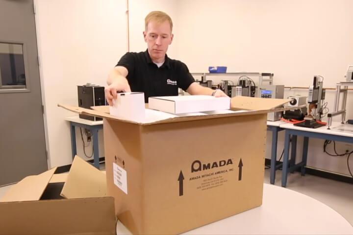 CD-V power supply - cd-v, capacitive discharge, cd welder, unpack, setup
