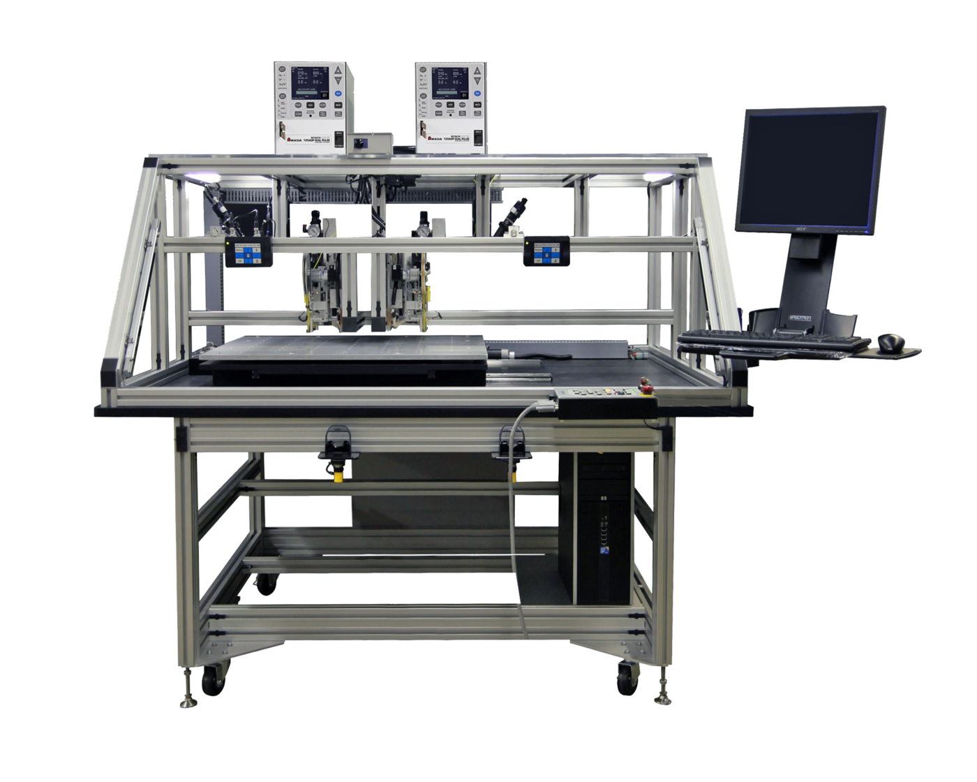 Custom Hot Bar Reflow Soldering & Bonding Systems