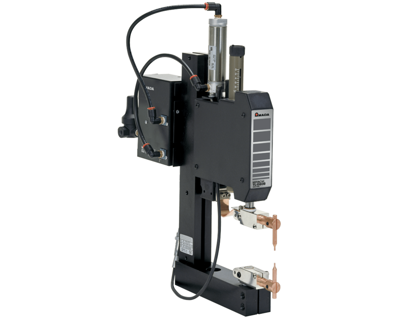 THIN-LINE<sup>TM</sup> TL-084B-EZ Pneumatic Mid Force Pneumatic Weld Head - Opposed Electrodes
