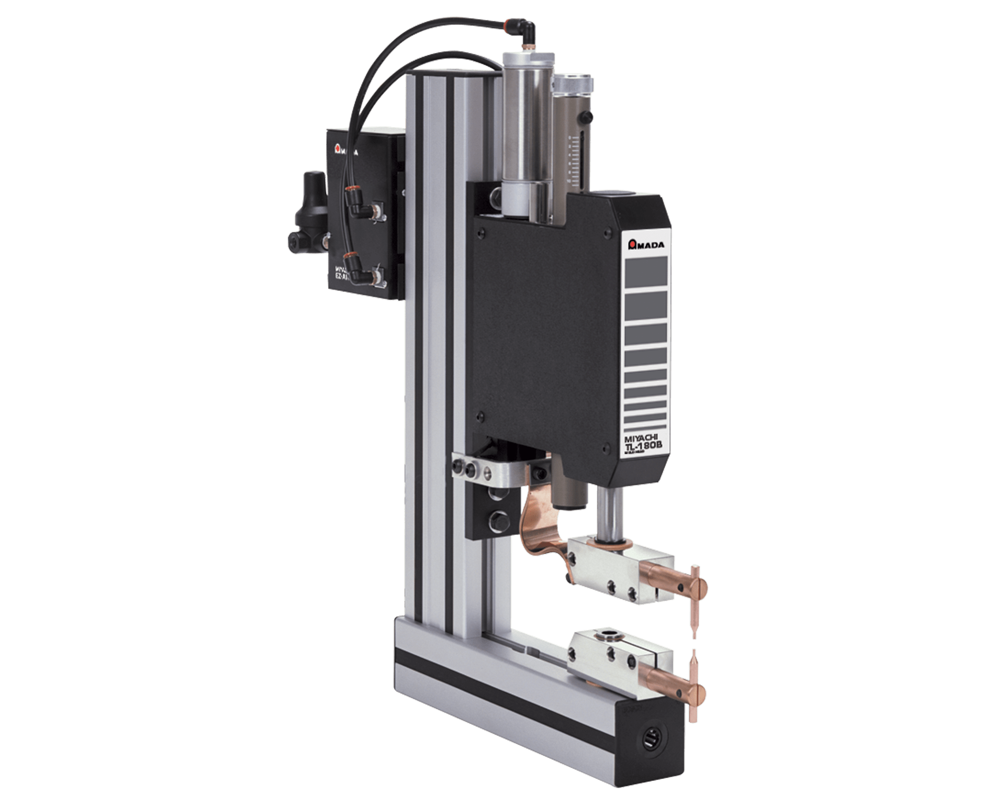 KN-200A Single Force Pneumatic Weld Head - Opposed Electrodes