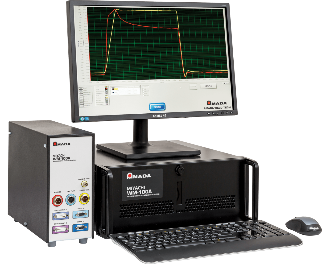 WM-100A Advanced Desktop Resistance Weld Monitor