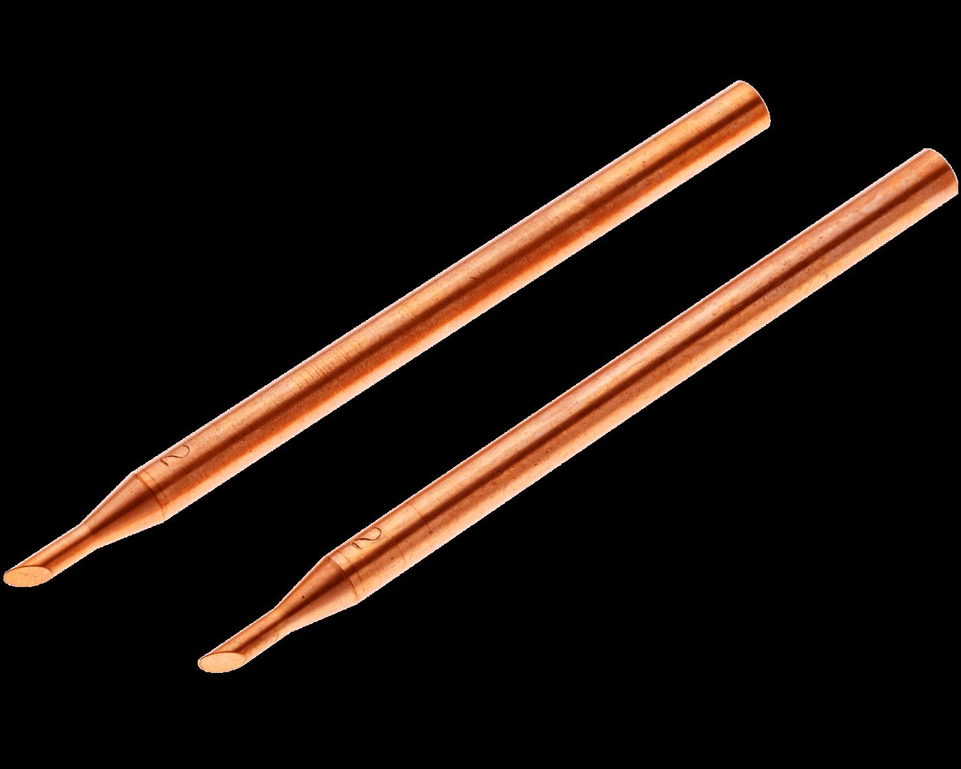 """EO0402 Offset Electrode Set <br> 1/8 """" OD, 1/16"""" Tip OD <br> RWMA 2"""