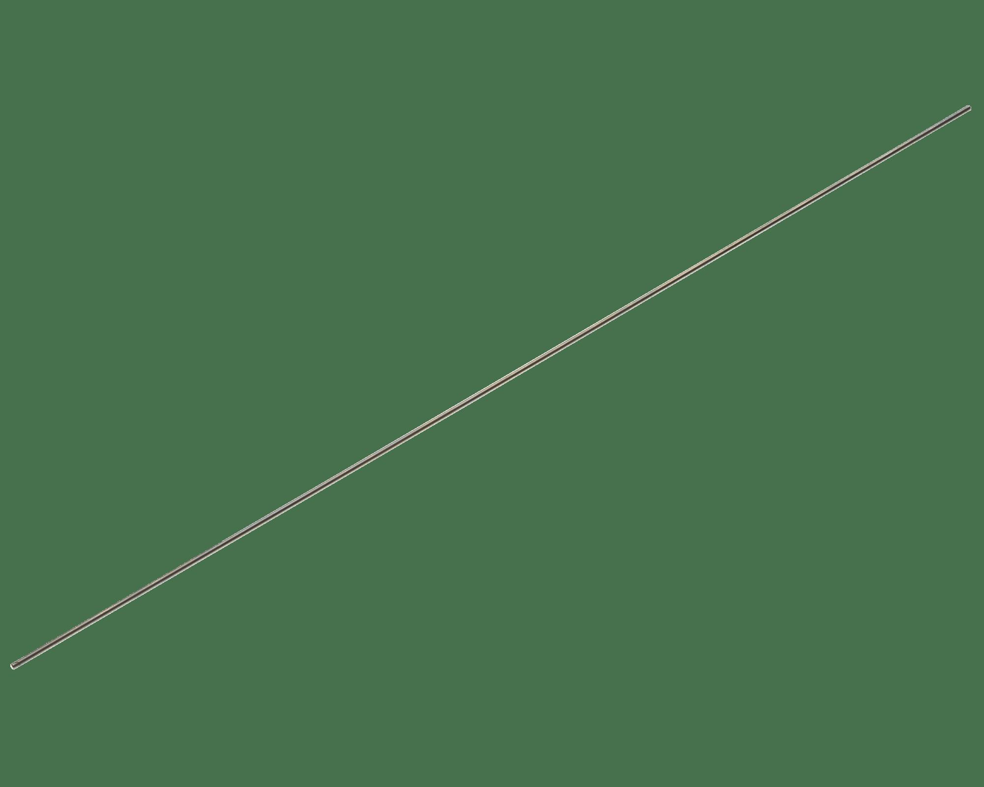 """ER0220 Electrode Rod <br>1/16"""" OD, 12"""" Length <br> Molybdenum"""